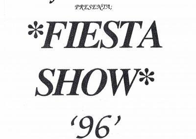 Fiesta Show 96