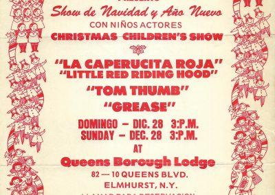 Grease Show de Navidad y Año Nuevo