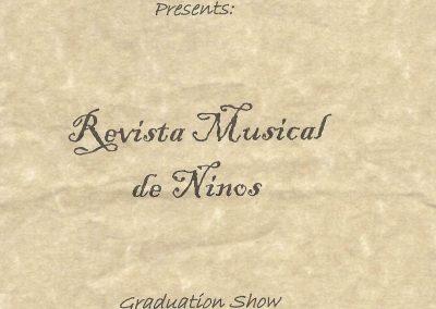 Revista Musical de Niños