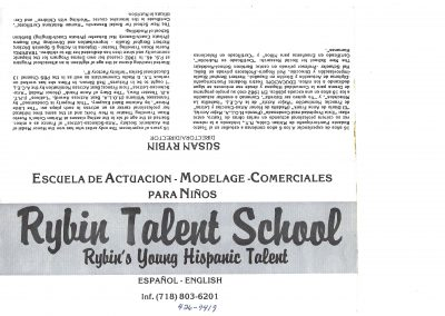 Rybin Talent School English-Español