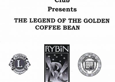 The Legend of the Golden Coffee Bean 2009